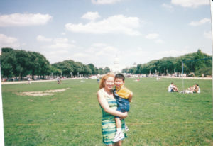 """""""Family Day"""" as a Young Working Mother in Washington D.C."""