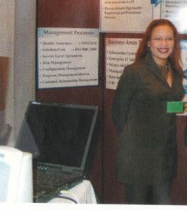 Working as a Spokesperson at a Government Tradeshow
